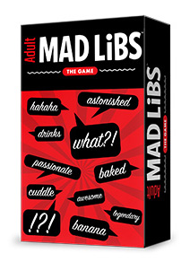 Adult Mad Libs Game