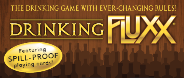 Drinking Fluxx Spill Proof Cards